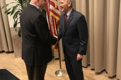 Oliver North VIP Reception